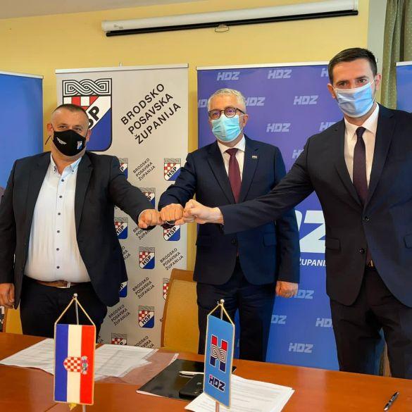 HDZ, HSP i HKS zajednički na izbore u Brodsko posavskoj