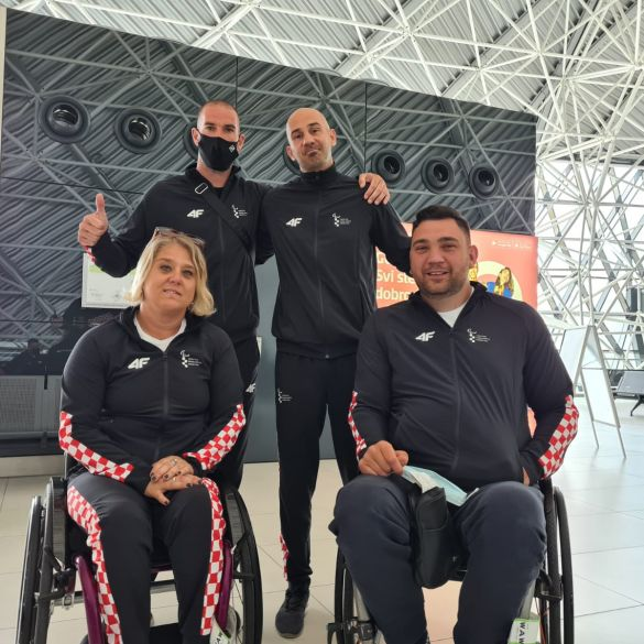 Hrvatska paraatletska reprezentacija otputovala na Europsko prvenstvo