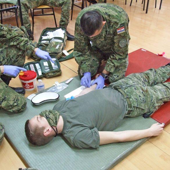 U Požegi završena obuka za borbenog spasioca