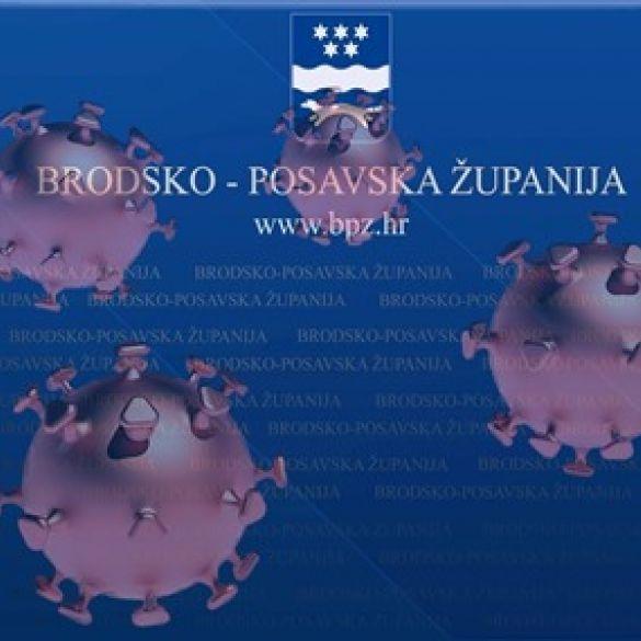 Devet novih pozitivnih osoba u Brodsko posavskoj