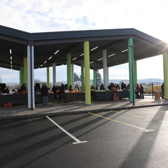 Poljoprivrednici otvorili novu pleterničku Gradsku tržnicu
