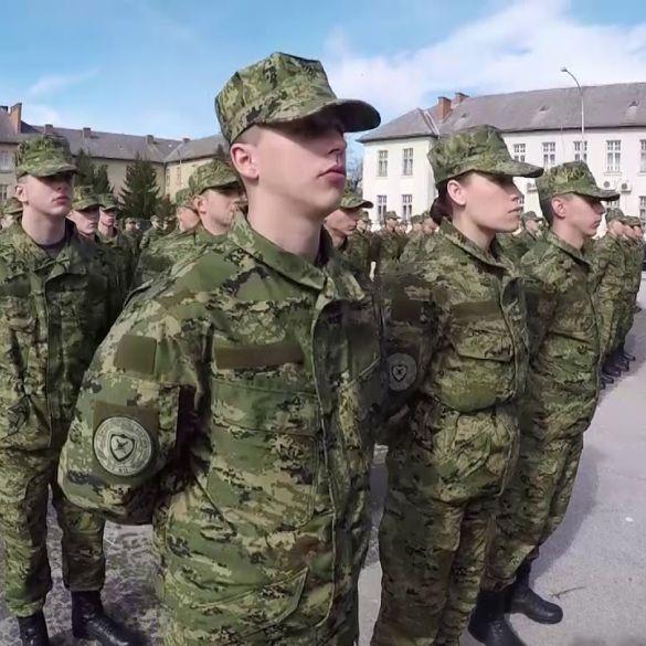 Prisega ročnika na dragovoljnom vojnom osposobljavanju
