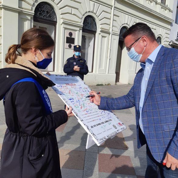 U Slavonskom Brodu kampanja Kad sigurno voziš, sigurno stižeš