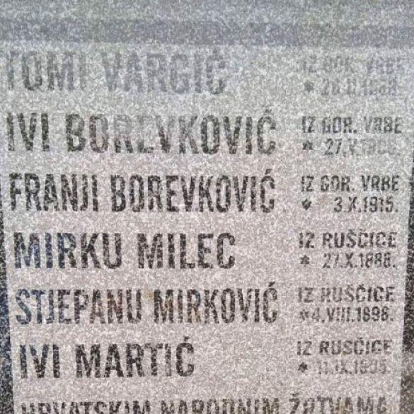 86 obljetnica Vrbsko ruščičkih žrtava