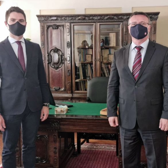 Župan se sastao sa eurozastupnikom Resslerom