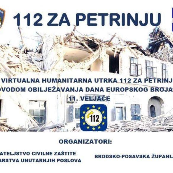 Dan 112 - Virtualna donacijska utrka za Petrinju