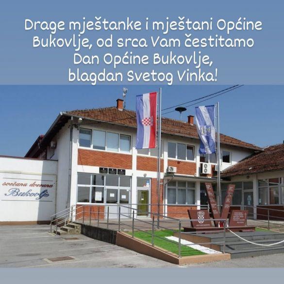 Dan općine Bukovlje i blagdan sv. Vinka u znaku epidemioloških mjera