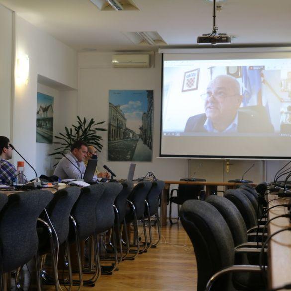 Gradsko vijeće Slavonskog Broda prvi put videokonferencijom