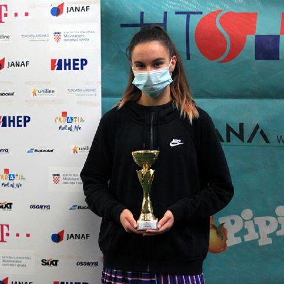 Brođanka Ivona Riđan druga na Mastersu u Zagrebu