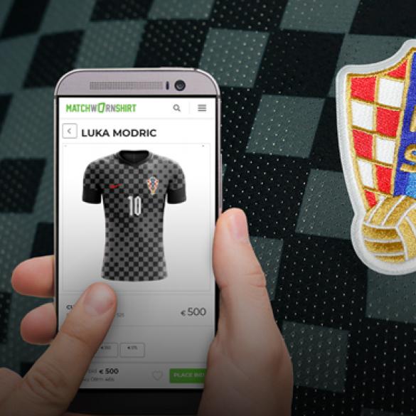 Humanitarna aukcija hrvatske nogometne reprezentacije