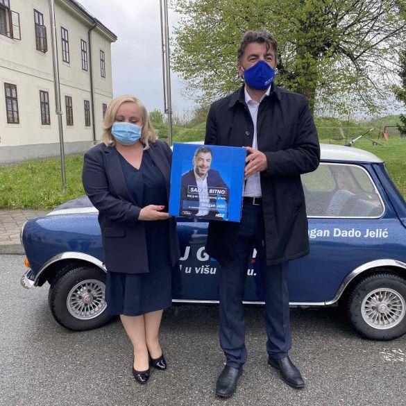 Kandidat za gradonačelnika Dragan Jelić predao kandidacijske liste