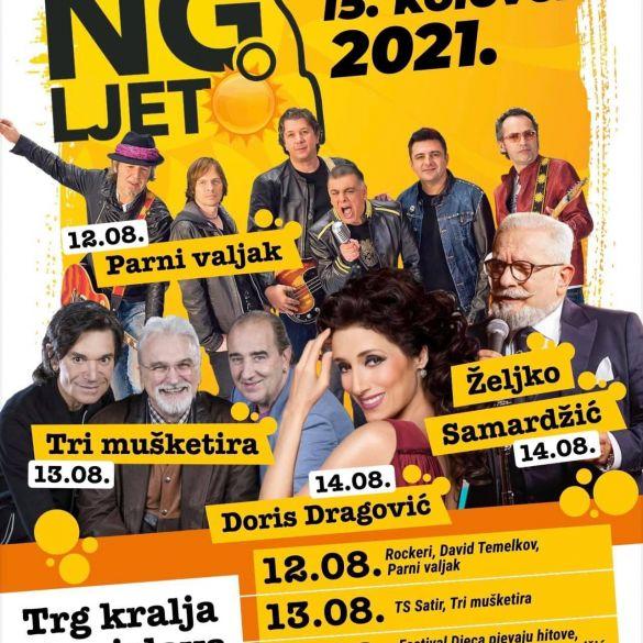Povratak Novogradiškog ljeta: Vrhunski koncerti na gradskom trgu!