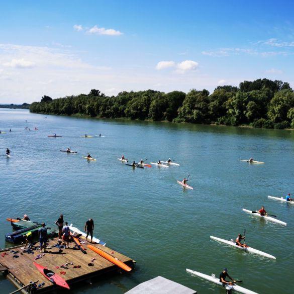Slavonski Brod ugostio Prvenstvo Hrvatske u kajak i kanu maratonu