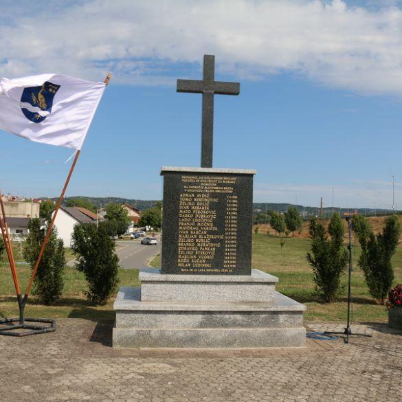 29. obljetnica pogibije pripadnika 105. bjelovarske brigade