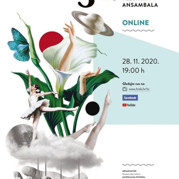 31. Susret hrvatskih plesnih ansambala u online okruženju