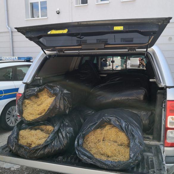 Policija zaplijenila 218 kilograma duhana