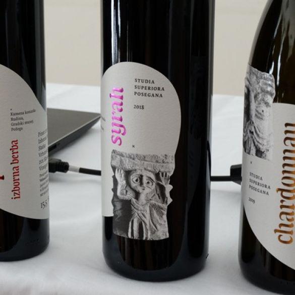 Novi vizualni identitet vina Veleučilišta u Požegi