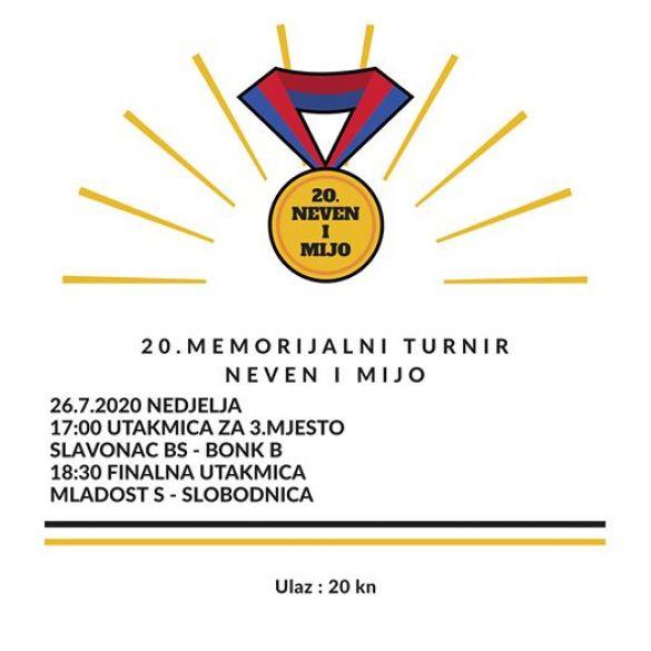 Sibinj i Slobodnica u finalu jubilarnog turnira 'Neven i Mijo'