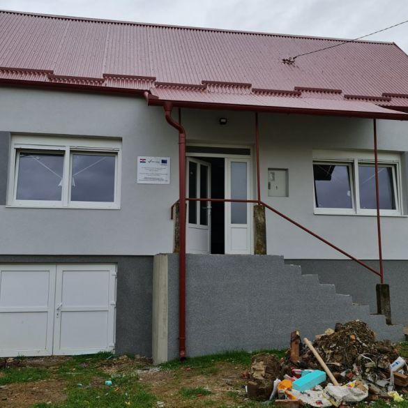 Obilazak gradilišta Društvenog doma Zarilac