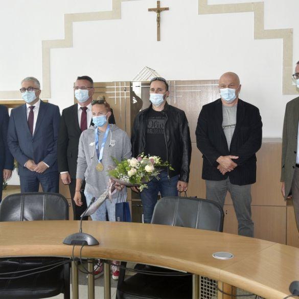 Župan Marušić ugostio kanuisticu Vanesu Tot