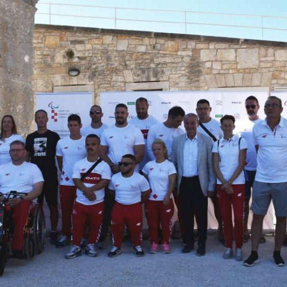 Predstavljena hrvatska paraolimpijska reprezentacija za Tokio
