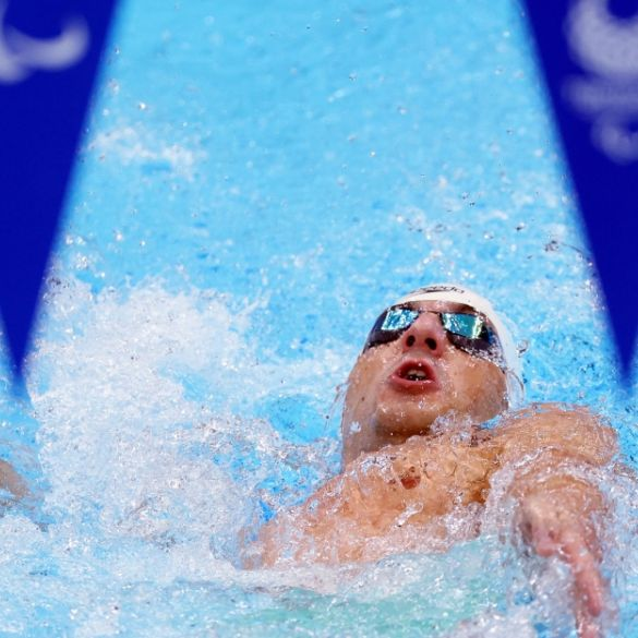Dino Sinovčić osvojio broncu na 100 m leđno