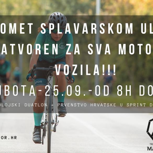 Polojski duatlon ovog vikenda u Slavonskom Brodu