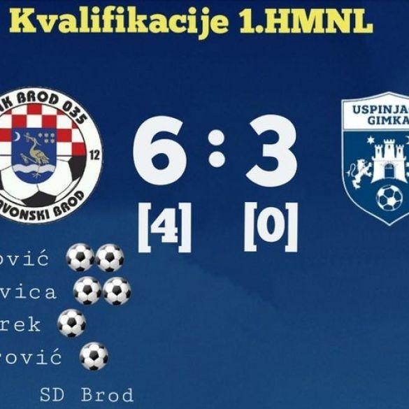 Velika pobjeda Broda 035 za povratak u prvu ligu!