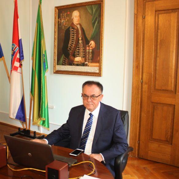 Požeško slavonski župan na sastanku s predsjednikom Vlade