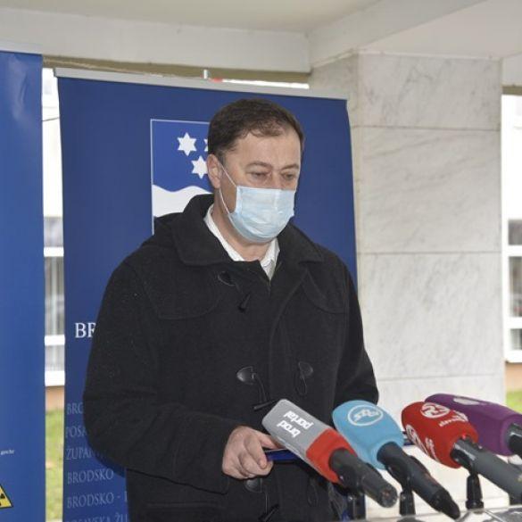 Na sjednici Stožera o epidemiološkoj situaciji i potresu u Sisku i Petrinji