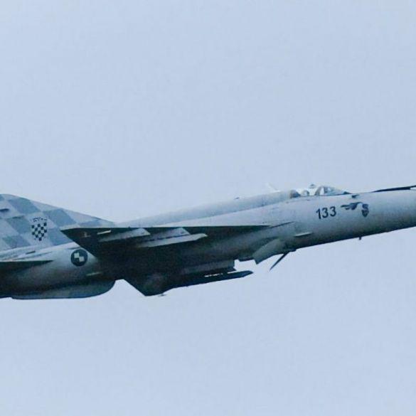 Redovite letačke aktivnosti lovačkih aviona HRZ-a