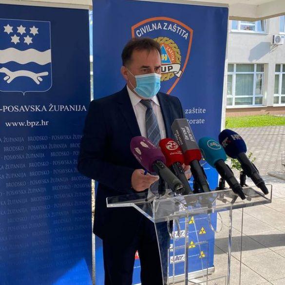 Rekordan broj novooboljelih i u Brodsko posavskoj županiji