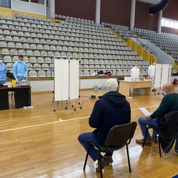 U dvorani Vijuš danas cijepljeno oko 400 građana ovog područja