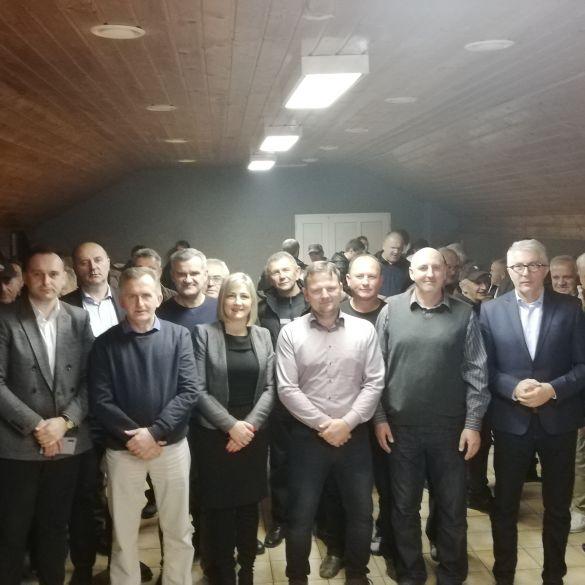 Božićni domjenak Hrvatske demokratske zajednice