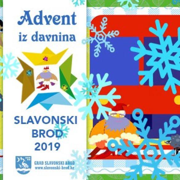 Likovi iz bajke Ivane Brlić Mažuranić na Adventu iz davnina u Slavonskom Brodu