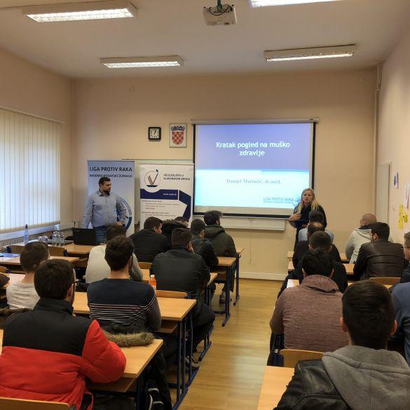 Predavanje dr. Marinčića o prevenciji raka prostate na VUSB