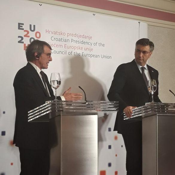 Sastanak Vlade i Konferencije predsjednika Europskog parlamenta